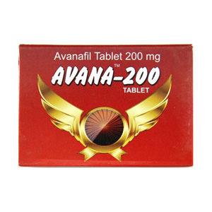 Verkauf und Preis Avanafil 200mg (4 pills)