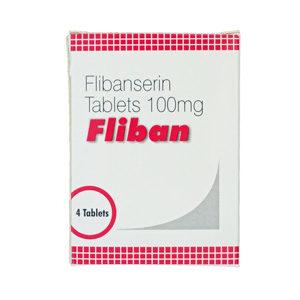 Verkauf und Preis Flibanserin 100mg (4 pills)