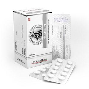 Verkauf und Preis Clenbuterolhydrochlorid (Clen) 40mcg (100 pills)