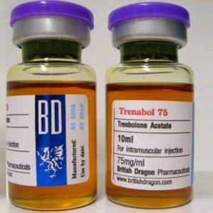 Verkauf und Preis Trenbolonacetat 10 ampoules (75mg /ml)