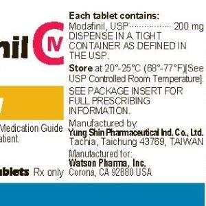 Verkauf und Preis Modafinil 200mg (30 pills)
