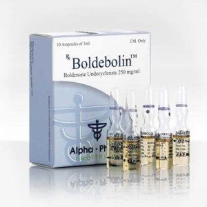 Verkauf und Preis Boldenonundecylenat (Equipose) 10 ampoules (250mg/ml)