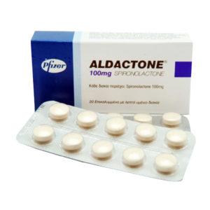 Verkauf und Preis Aldacton (Spironolacton) 100mg (30 pills)