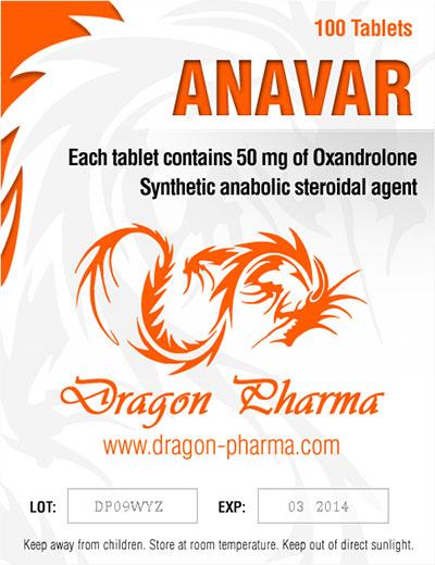 Verkauf und Preis Oxandrolon (Anavar) 50mg (100 pills)