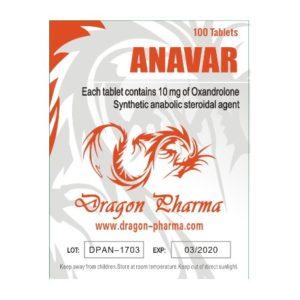Verkauf und Preis Oxandrolon (Anavar) 10mg (100 pills)